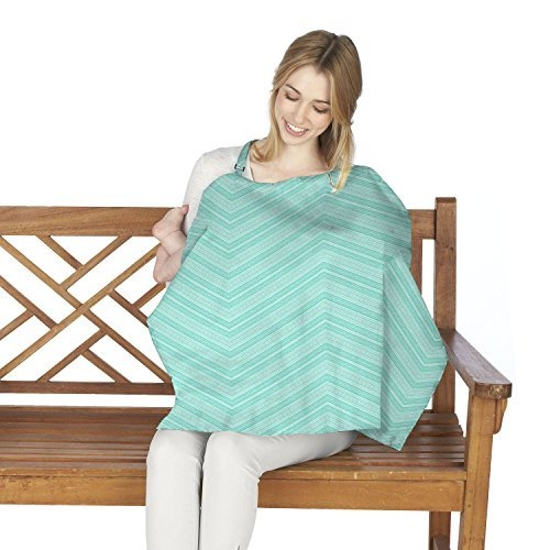Bellissimo Cars (Wendy Bellissimo Nursing Cover- Lightweight Breathable Breastfeeding Cover- Adjustable Strap-Full Coverage Nursing Apron- Light Blue)