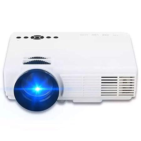 AKDSteel Q5 Mini Proyector LED Portátil HD Home Entertainment ...