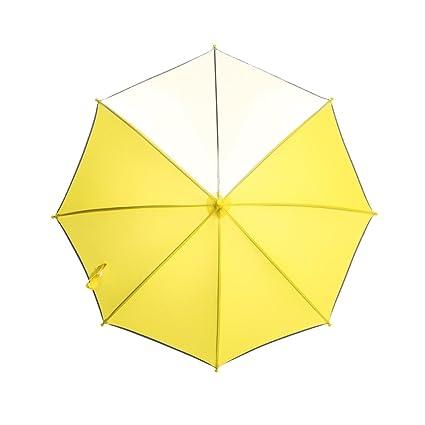 Paraguas de los niños para el Muchacho y la Muchacha con el Panel Claro de la