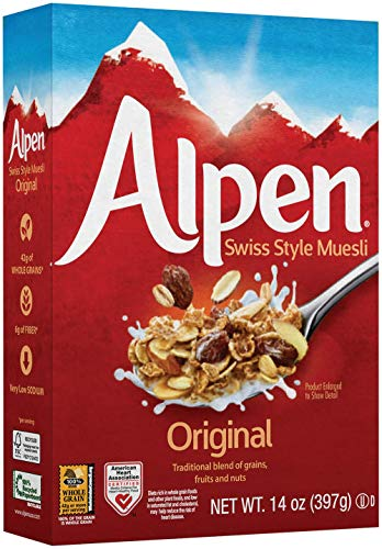 Alpen Milk - Alpen Cereal, Original, 14 Ounce (Pack of 6)