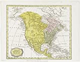 Historic 1806-05-01 Map | North America from the best authorities | North America - Maps | Charts and maps