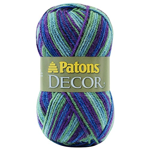 Patons  Decor Yarn - (4) Medium Worsted Gauge  - 3.5oz -  Mountain Top  -   For Crochet, Knitting & Crafting by Patons (Image #4)
