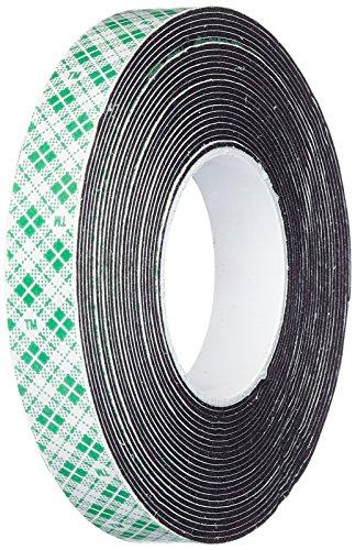 (3M 4052 Natural Polyurethane Double Coated Foam Tape, 0.5