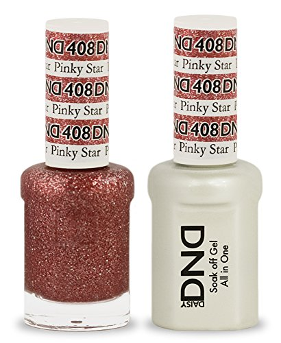DND Soak Off Gel Polish Dual Matching Color Set 408, Pinky S