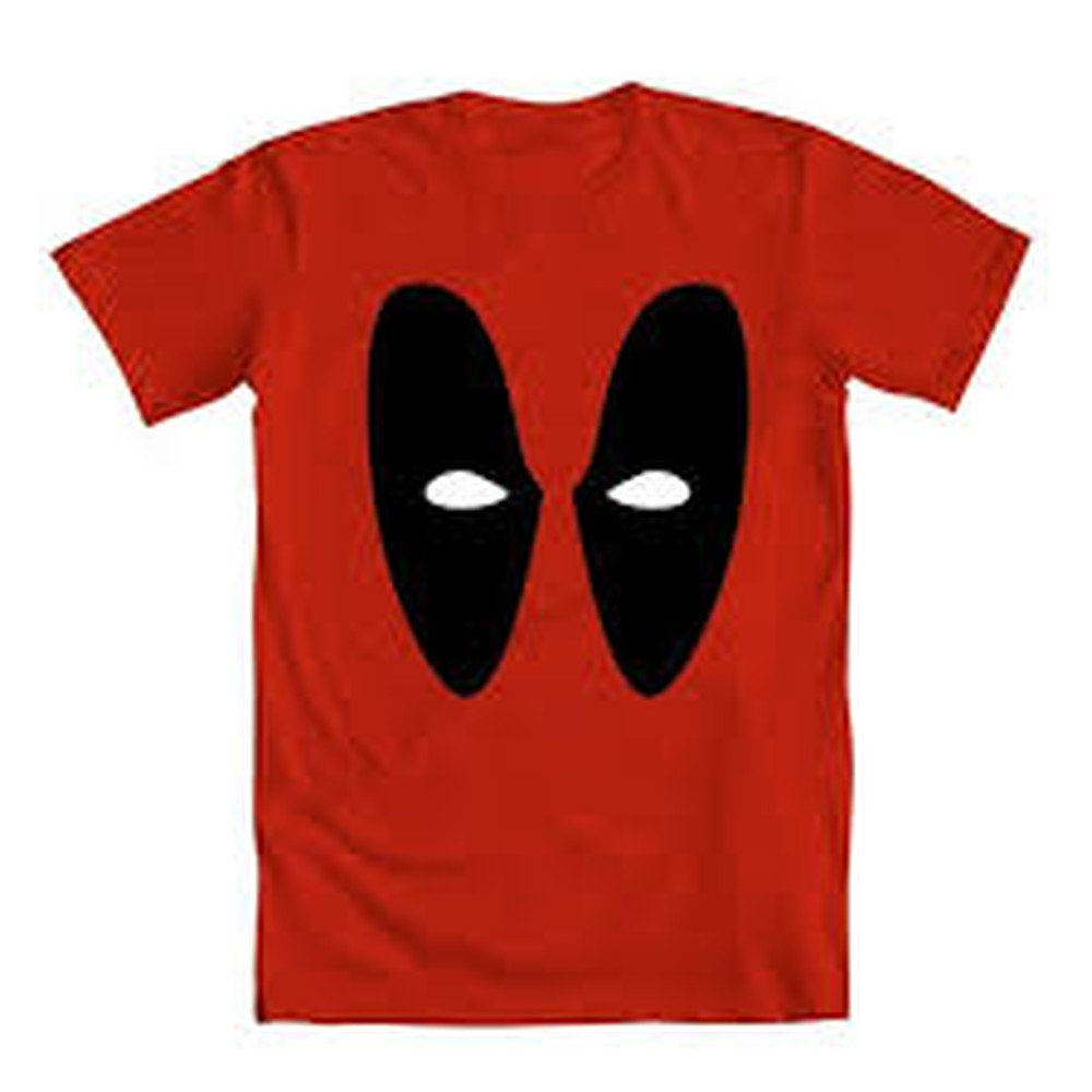 Deadpool - Minimal Eyes - T-Shirt (Large) by Mighty Fine (Image #1)
