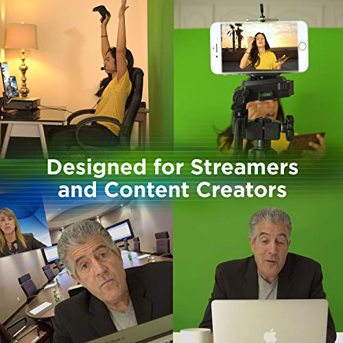 Valera Explorer 70 Inch Portable Green Screen for Streaming and Videos - Mounts on Tripod and Wall | Only 8 lbs | 2 min Setup | 16:9 Format | ChromaBoost Fabric with High Vibrancy for Low Lighting by On the Go Screens (Image #2)