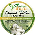 """""""GRADE A"""" Organic Tallow from Grass Fed Cows - a natural source of fat soluble vitamins A, D, E, K, as well as CLA's and palmitoleic acid"""