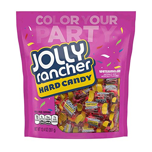 Jolly Rancher Hard Candy, Watermelon Flavor, 12.4 Ounce, (4 Pack)