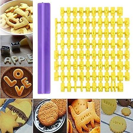 Moule Biscuit Emporte Gâteau Alphabet Lettre Chiffre Pâtisserie Pâte Fondant