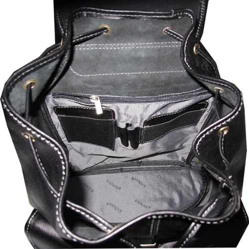 sac noir femme à 32543en dos cuir qZ46Pwq