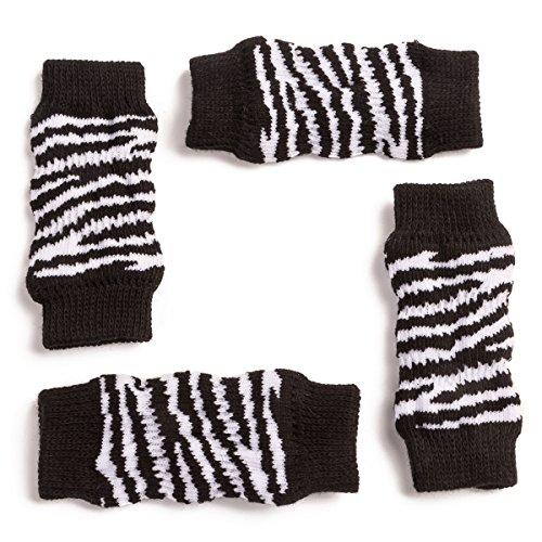 Harfkoko Pet Heroic Knitted Dog Cat Leg Warmer with Rubber Reinforcement, Knitted Dog Leg Hock Protector&Cat Leg Hock Protector, Suitable for Small&Medium Dogs Cats