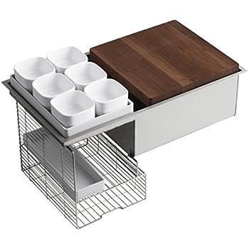 KOHLER K-5540-NA Prolific Undermount Single Bowl Kitchen