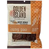 Golden Island Beef Jerky, Kung Pao, All Natural and Gluten Free (14.5 oz)