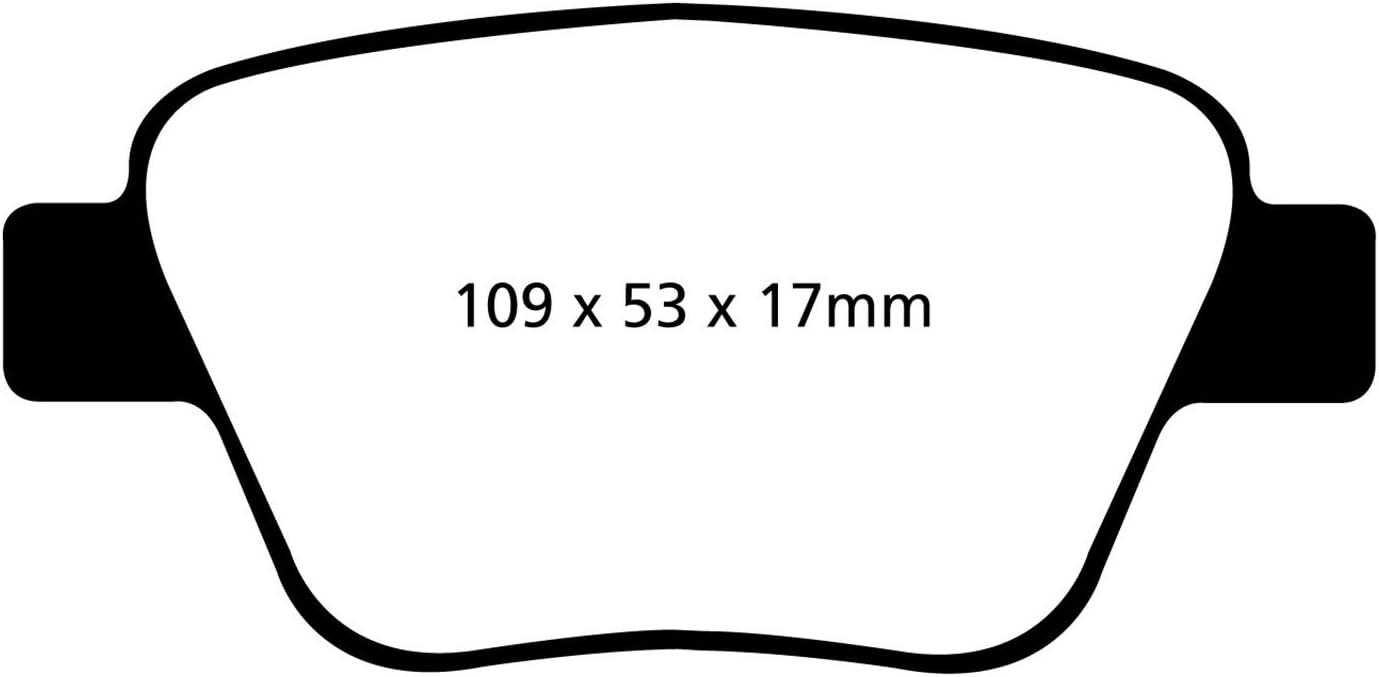 EBC Brakes DP32075C Ceramic Brake Pad