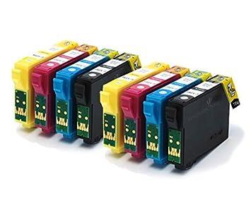 Badger Inks Ltd T1285 - Juego de 8 cartuchos compatibles para ...