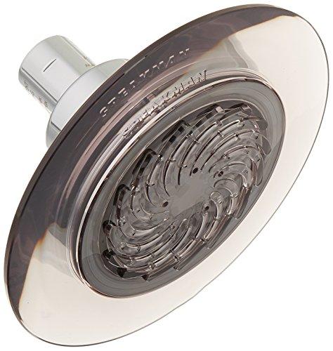 SPEAKMAN S-4002-E15 Showerhead, Gray/Polished Chrome,1.5 gpm