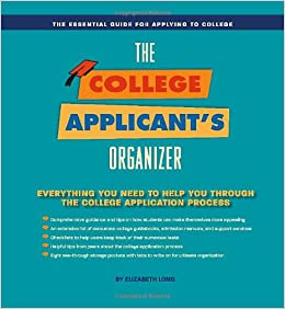 Amazon Com Applicationhelp >> College Applicant Organizer The Essential Tool For Applying
