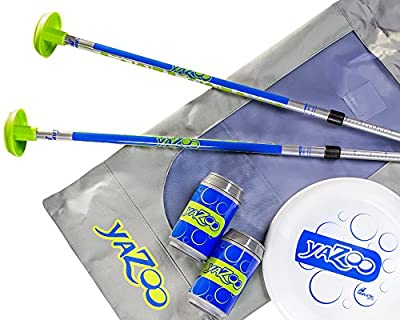 SeaTurtle Sports Yazoo Bottle Bash Disc Toss Game with Soft Surface Spike