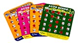 Toys : Regal Games Original Travel Bingo 4 Packs Great For Family Vacations Car Rides and Road Trips …