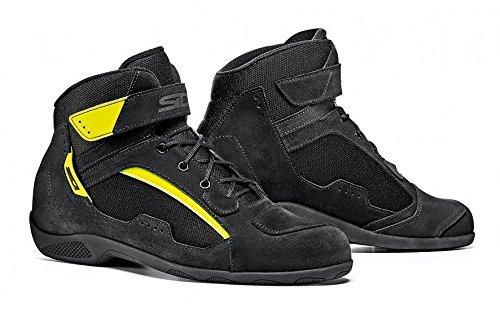 SIDI DUNA BOOT (44, Black/FLo Yellow) by Sidi