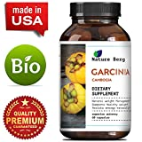95% HCA Garcinia Cambogia - Ultra Pure Fat Burner Extract - Weight Loss Pills for Women + Men - Appetite Blocker + Suppressant - Slim + Burn Supplement - Best Results + Reviews