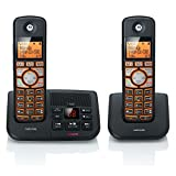 Motorola DECT 6.0 Cordless Big Backlit Button Phone with 2 Handsets, Caller ID
