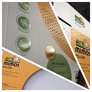 White Cover for Mimos Pillow (Size S)