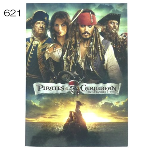 izumi-b5-notes-aig-621-of-the-pirates-of-the-caribbean-life-japan-import