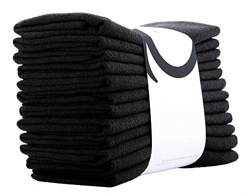 AQUIS Professional Back Bar Salon Hair Towels 16 X 29 INCHES—41 X 74 CM - Set of 12 by AQUIS