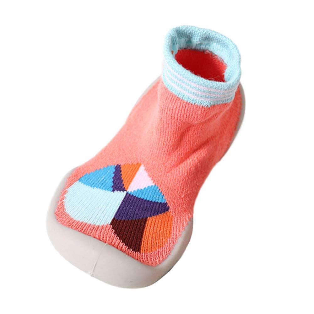 Mitlfuny Unisex Babyschuhe M/ädchen Jungen Anti-Slip Socken Slipper Stiefel,Baby Socken Soft Bottom rutschfeste Boden Gummisohlen Kleinkind Girl Boy Infant Socken
