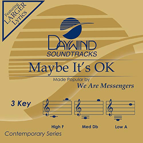 Maybe It's Ok Album Cover