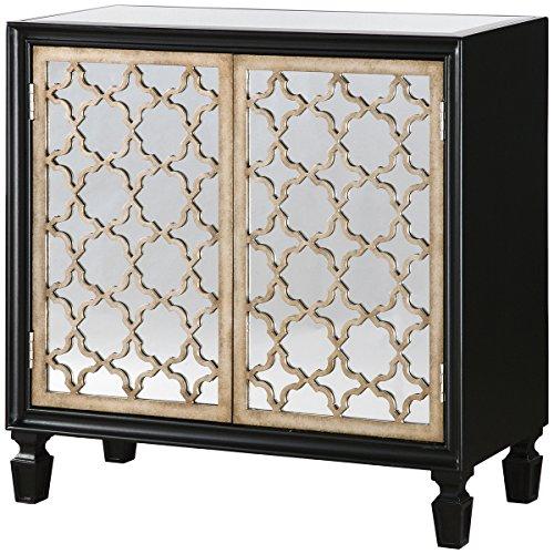 Uttermost 24498 Franzea Mirrored Console Cabinet