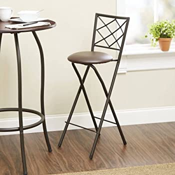 Amazon Com New 30 Quot Folding Bar Stools In Bronze With