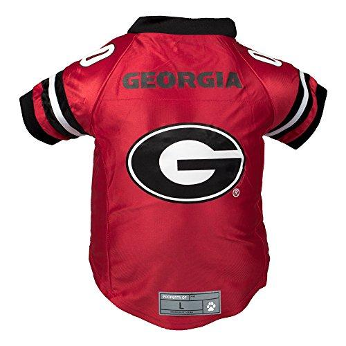 NCAA Georgia Bulldogs Premium Pet Jersey, - Ncaa Football Dog Jersey