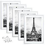 upsimples 12x18 Picture Frame Set of 5,Display