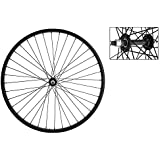 Wheel Master Front Bicycle Wheel 26 x 1.75/2.125 36H, Steel, Bolt On, Black