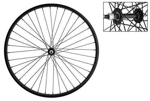 Wheel Master Front Bicycle Wheel 26 x 1.75/2.125 36H, Steel, Bolt On, Black by WheelMaster (Image #1)