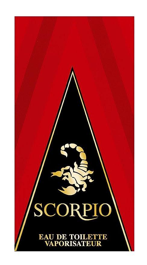Scorpio Ml 75 Rouge Homme De Toilette Eau SVzUpM