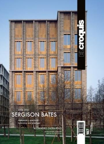 El Croquis 187: Sergison Bates 2004 2016 (English and Spanish Edition) [Edited] (Tapa Blanda)