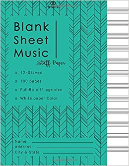 blank music staff