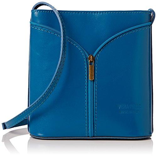 Girly Handbags Carla - Bolsa Mujer Azul (light Blue)
