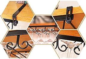 Credenza Per Bicchieri : Jxxdq sotto il portacandele per vino in metallo credenza pensile