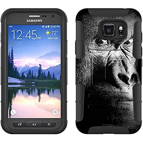 Samsung Galaxy S7 Active Armor Hybrid Case Serious Gorilla 2 Piece Case with Holster for Samsung Galaxy S7 Active Sales