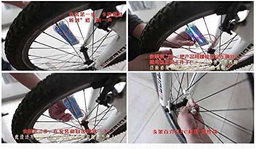 2 X BICYCLE VALVE STEM TIRE WHEEL LIGHTS MOUNTAIN RACING BEACH CRUISER GIRL BOY