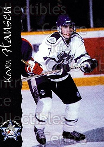 - (CI) Kevin Hansen Hockey Card 1996-97 Sudbury Wolves (base) 8 Kevin Hansen