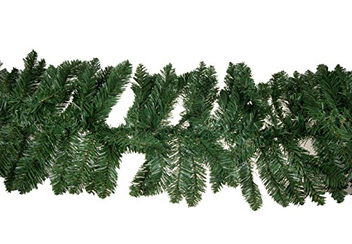 Christmas Pine Branch Garland by Clever Creations | Festive Holiday Décor | Realistic Pine Branches | Poseable Artificial Pine Needles | Classic Christmas Decorations | 8.5' Long