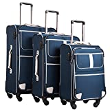Best Lightweight Suitcases - Coolife Luggage 3 Piece Set Suitcase with TSA Review