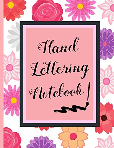 HAND LETTERING NOTEBOOK: 8.5