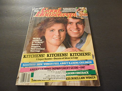 Good Housekeeping April 1987 Pri...