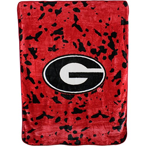 College Covers Georgia Bulldogs Throw - Fleece Bulldogs